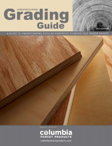 Grading Guide, hardwood plywood