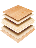 PureBond, hardwood plywood, plywood, Columbia Forest Products, Columbia, eco-friendly, veneers