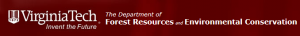 Virginia Tech Department of Forest Resources and Environmental Conservation