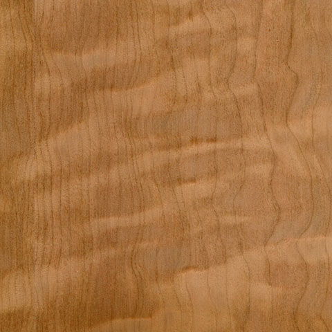 Figured Cherry Veneer Columbia Forest Products