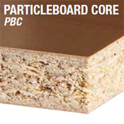 Particleboard, plywwod